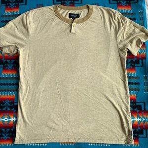 Brixton Men's Henley T-shirt size L